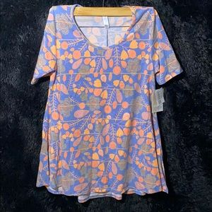 NWT LuLaroe XS Perfect T Floral Pattern